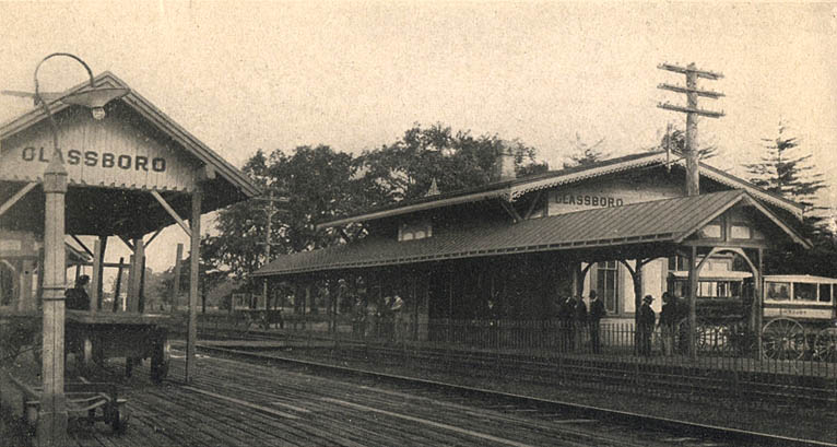The West Jersey Train Depot